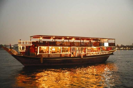 Dubai Creek Dhow Dinner Cruise from the Port
