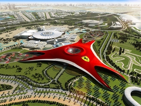 Ferrari World & Yas Island Water Park